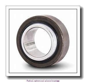 50 mm x 75 mm x 35 mm  skf GE 50 ES-2LS Radial spherical plain bearings