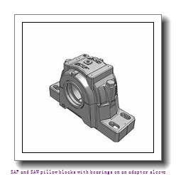 skf SAF 1613 x 2.1/4 TLC SAF and SAW pillow blocks with bearings on an adapter sleeve