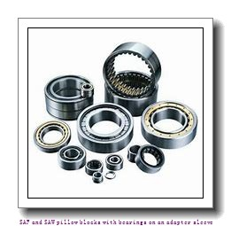 skf SAW 23524 T SAF and SAW pillow blocks with bearings on an adapter sleeve
