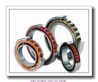 55 mm x 100 mm x 21 mm  skf 7211 BECBY Single row angular contact ball bearings