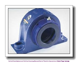 timken QAACW11A055S Solid Block/Spherical Roller Bearing Housed Units-Double Concentric Piloted Flange Cartridge