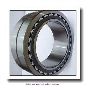 300 mm x 540 mm x 192 mm  SNR 23260EMKW33 Double row spherical roller bearings