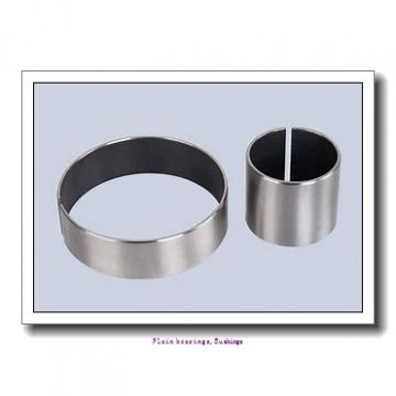 12,7 mm x 15,081 mm x 22,225 mm  skf PCZ 0814 E Plain bearings,Bushings