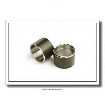 57,15 mm x 61,913 mm x 63,5 mm  skf PCZ 3640 M Plain bearings,Bushings