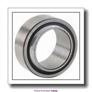 15,875 mm x 18,256 mm x 19,05 mm  skf PCZ 1012 M Plain bearings,Bushings