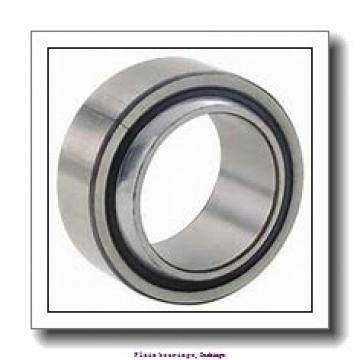 3,175 mm x 4,763 mm x 3,175 mm  skf PCZ 0202 E Plain bearings,Bushings