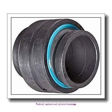 70 mm x 105 mm x 49 mm  skf GE 70 ES-2RS Radial spherical plain bearings