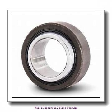 280 mm x 400 mm x 155 mm  skf GE 280 ES-2RS Radial spherical plain bearings