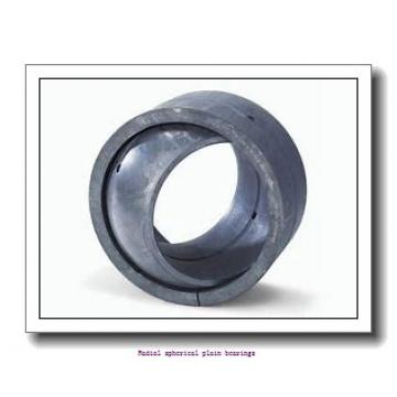 35 mm x 55 mm x 25 mm  skf GE 35 TXG3E-2LS Radial spherical plain bearings