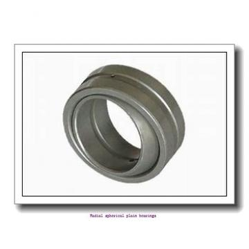 50 mm x 75 mm x 43 mm  skf GEM 50 ES-2RS Radial spherical plain bearings