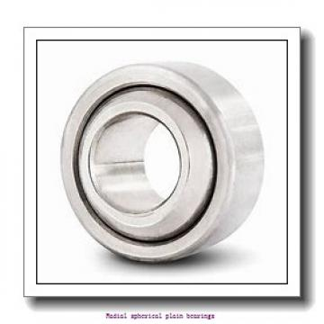 10 mm x 22 mm x 12 mm  skf GEH 10 C Radial spherical plain bearings