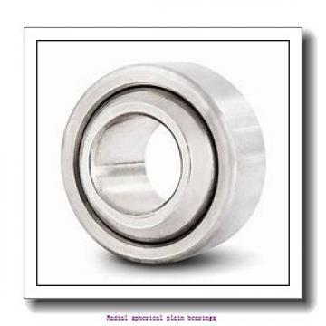 63.5 mm x 100.013 mm x 95.25 mm  skf GEZM 208 ES-2RS Radial spherical plain bearings