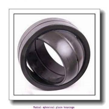 125 mm x 180 mm x 125 mm  skf GEG 125 ES Radial spherical plain bearings