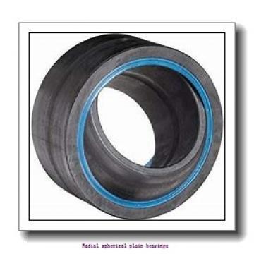 22.225 mm x 36.513 mm x 19.431 mm  skf GEZ 014 ES Radial spherical plain bearings