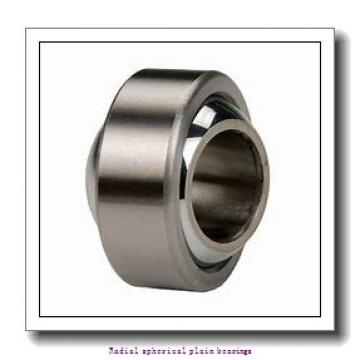 25 mm x 42 mm x 20 mm  skf GE 25 ES Radial spherical plain bearings
