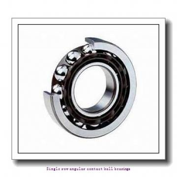 75 mm x 160 mm x 37 mm  skf 7315 BECBJ Single row angular contact ball bearings