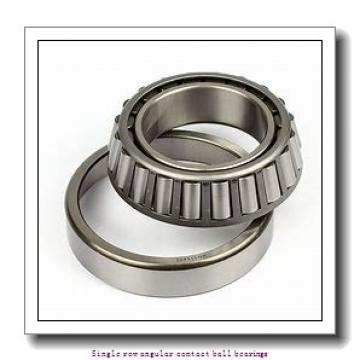70 mm x 125 mm x 24 mm  skf 7214 BEGAM Single row angular contact ball bearings