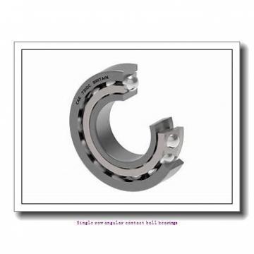 35 mm x 80 mm x 21 mm  skf 7307 BECBM Single row angular contact ball bearings
