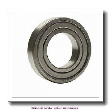 95 mm x 200 mm x 45 mm  skf 7319 BEGAM Single row angular contact ball bearings