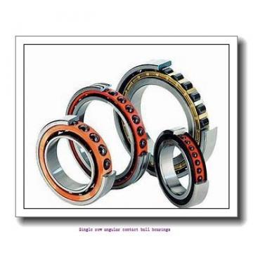 45 mm x 85 mm x 19 mm  skf 7209 BEP Single row angular contact ball bearings