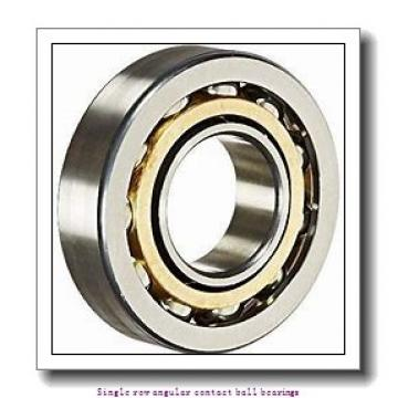55 mm x 100 mm x 21 mm  skf 7211 BECBP Single row angular contact ball bearings