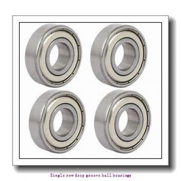 15 mm x 32 mm x 9 mm  NTN 6002LLU/15A Single row deep groove ball bearings
