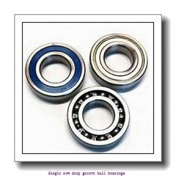 20 mm x 42 mm x 12 mm  NTN 6004LLUA1C3/5C Single row deep groove ball bearings