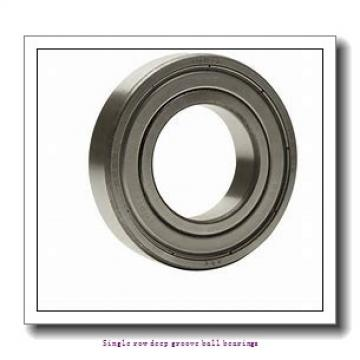 25 mm x 47 mm x 12 mm  SNR 6005.EE/F47/WT Single row deep groove ball bearings