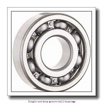 20 mm x 42 mm x 12 mm  NTN 6004LLU/2AU1 Single row deep groove ball bearings