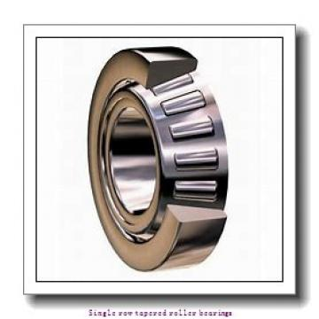 25,4 mm x 60,325 mm x 17,462 mm  NTN 4T-15578/15523 Single row tapered roller bearings
