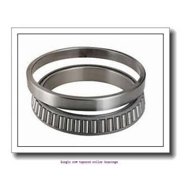 25,4 mm x 60,325 mm x 19,355 mm  NTN 4T-1986/1931 Single row tapered roller bearings