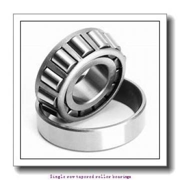 31.75 mm x 63.5 mm x 19.05 mm  NTN 4T-15123/15250X Single row tapered roller bearings