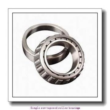 28,575 mm x 63,5 mm x 20,638 mm  NTN 4T-15112/15250 Single row tapered roller bearings