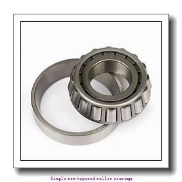 31,75 mm x 62 mm x 20,638 mm  NTN 4T-15125/15245 Single row tapered roller bearings