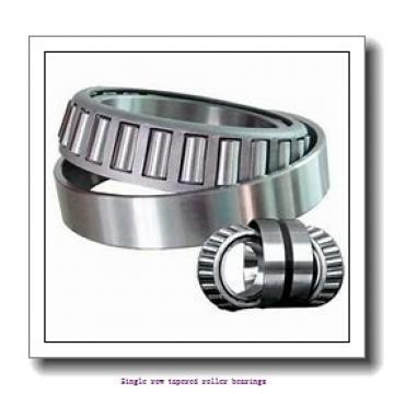15,875 mm x 42,862 mm x 14,288 mm  NTN 4T-11590/11520 Single row tapered roller bearings