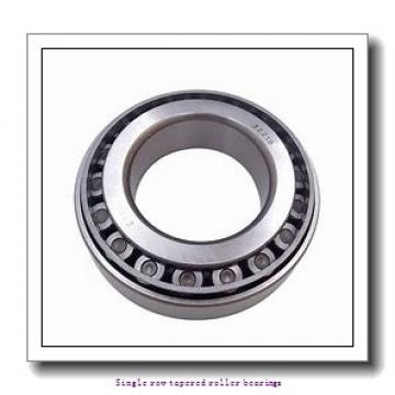 31,75 mm x 62 mm x 20,638 mm  NTN 4T-15126/15245 Single row tapered roller bearings