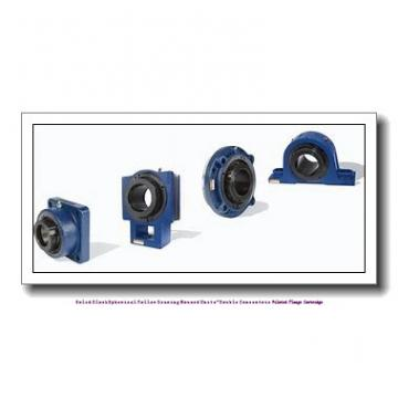 timken QAACW26A415S Solid Block/Spherical Roller Bearing Housed Units-Double Concentric Piloted Flange Cartridge