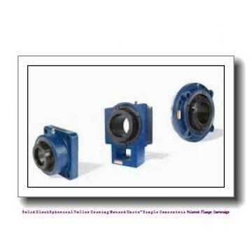 timken QACW15A075S Solid Block/Spherical Roller Bearing Housed Units-Single Concentric Piloted Flange Cartridge