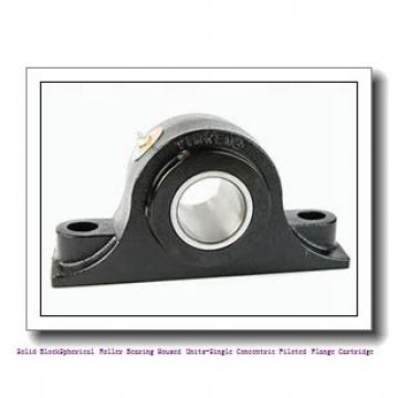timken QVFY28V500S Solid Block/Spherical Roller Bearing Housed Units-Single V-Lock Round Flange Block