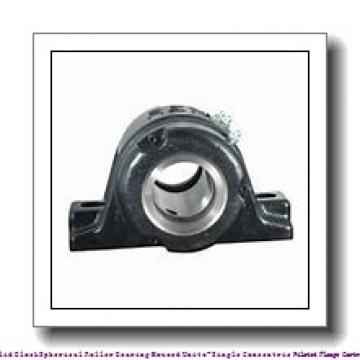 timken QVFX26V115S Solid Block/Spherical Roller Bearing Housed Units-Single V-Lock Round Flange Block