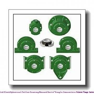 timken QVFK26V110S Solid Block/Spherical Roller Bearing Housed Units-Single V-Lock Round Flange Block